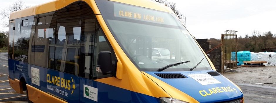 Home page for Clare Bus